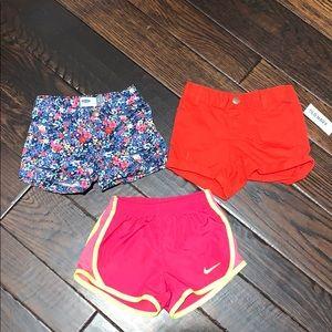 Nike & Old Navy short bundle size 3T